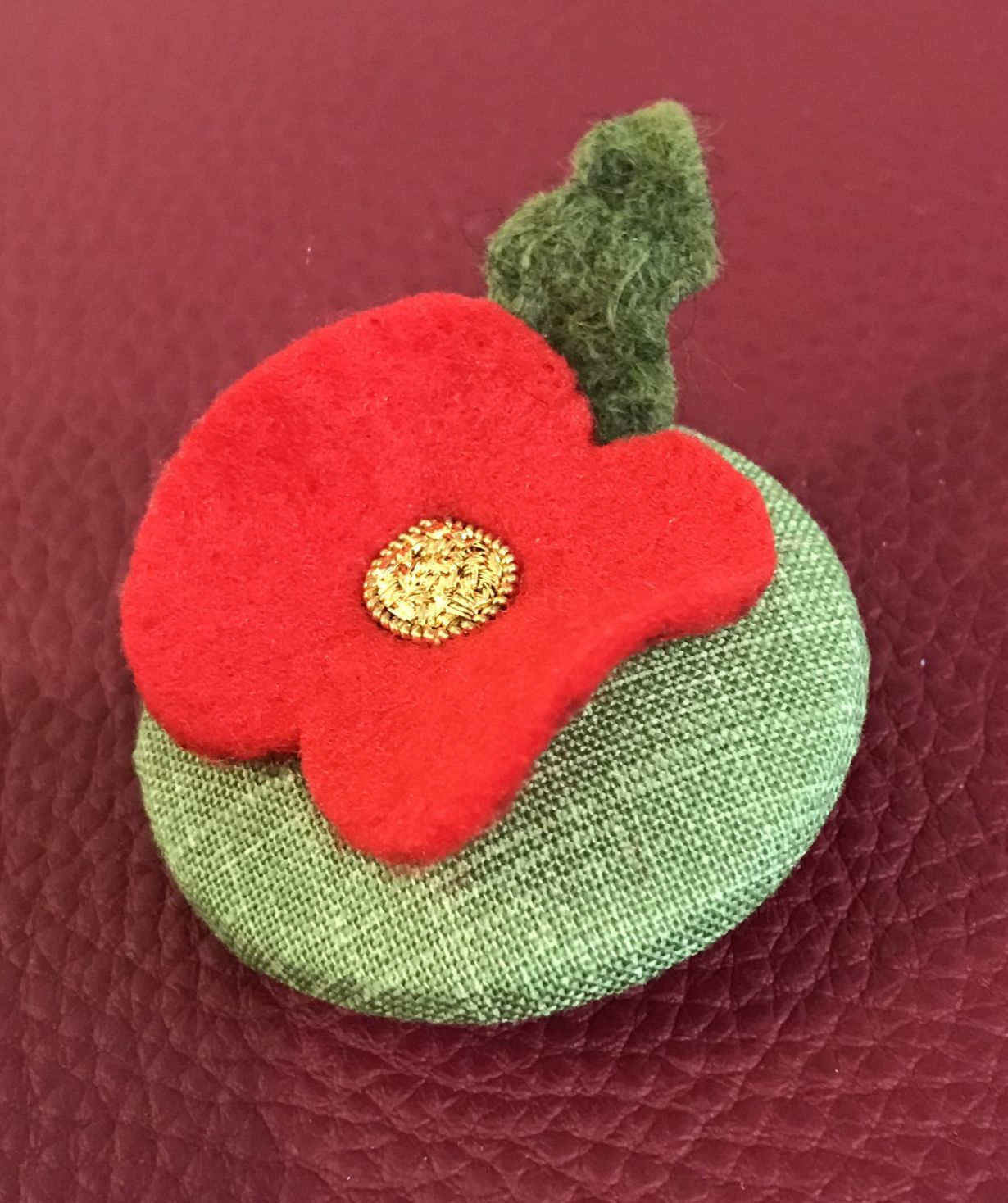 Lest we Forget - Poppy Brooch